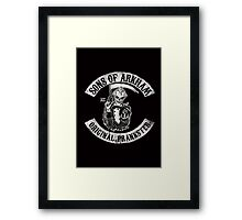 Sons Of Arkham STICKER, PRINT, I PAD, PHONE Framed Print