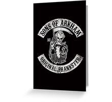Sons Of Arkham STICKER, PRINT, I PAD, PHONE Greeting Card