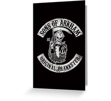 Sons Of Arkham STICKER, PRINT, I PAD, PHONE Greeting Card