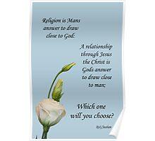 religion relationship Poster