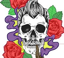Skulls And Roses by Saif Ajaib