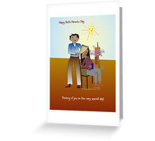 Happy Birth Parents Day_Card Greeting Card