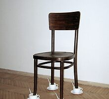 "Installation "" Untitled "" / repeat with the  Viennese chair by Natasha  Perova"