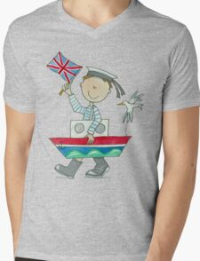 Sailor Boy -Fancy dress parade Mens V-Neck T-Shirt