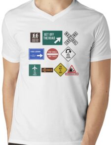 Lord of the Road Mens V-Neck T-Shirt