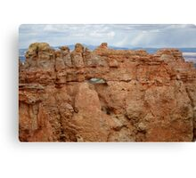 Bryce Canyon National Park,Utah,USA hole in the rock Canvas Print