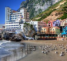 Caleta Hotel At Catalan Bay Gibraltar by manateevoyager