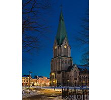 Kristiansand Cathedral Photographic Print