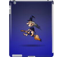 Witch on a broom iPad Case/Skin