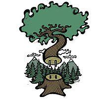 Plug In Tree Photographic Print