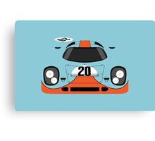 917 #20 Racing Livery Canvas Print
