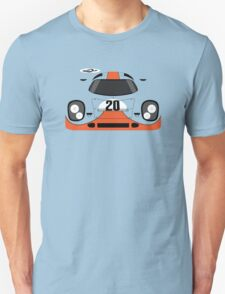 Porsche 917K #20 in Gulf Racing Livery T-Shirt
