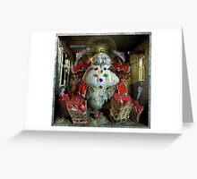 Ecce Homo 134 - GOLEM Greeting Card