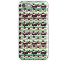 Cute Winged Turtle Pattern iPhone Case/Skin