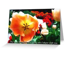 A Beautiful View Greeting Card
