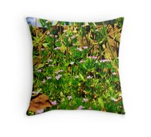 The World of Small Throw Pillow