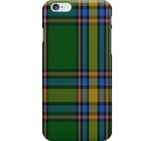 01528 Alberta (Province) District Tartan Fabric Print Iphone Case iPhone Case/Skin