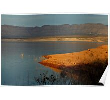 Lake Mead At Sunset Poster