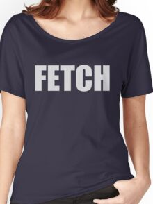 Fetch - Mean Girls Quote T-shirt Grey Women's Relaxed Fit T-Shirt