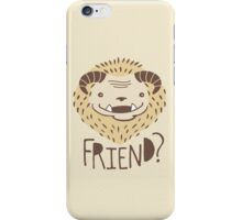 Friendly Beast iPhone Case/Skin