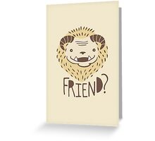 Friendly Beast Greeting Card