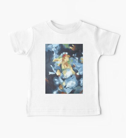 Still Life of Blue Lounge and Flowers Baby Tee
