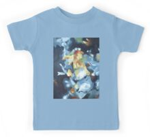 Still Life of Blue Lounge and Flowers Kids Tee