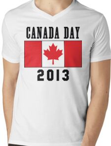 Canada Day 2013 Mens V-Neck T-Shirt