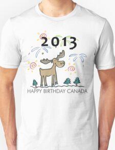 Happy Birthday Canada 2013 T-Shirt
