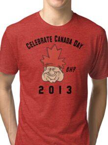 Canada Day 2013 Eh Tri-blend T-Shirt