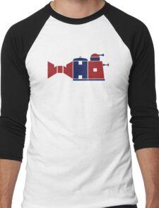 """Bow Ties are Cool"" Men's Baseball ¾ T-Shirt"
