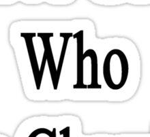 I Love Geeks Who Love Chemistry  Sticker