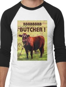 BUTCHER Men's Baseball ¾ T-Shirt