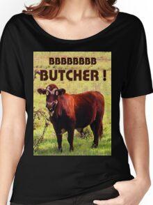 BUTCHER Women's Relaxed Fit T-Shirt