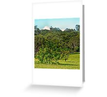 Fruit tree on a rural property Greeting Card