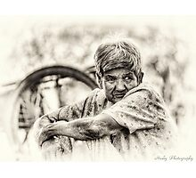 The Old Lady Photographic Print