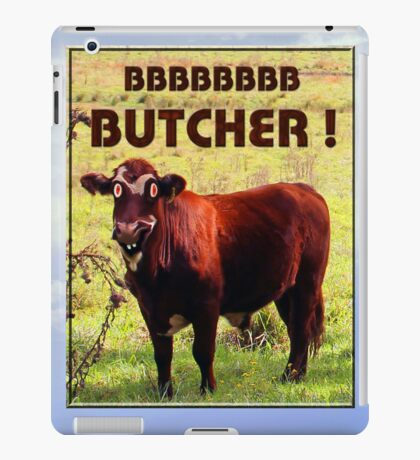 BUTCHER TWO iPad Case/Skin