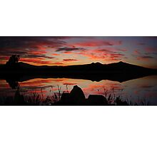 ©HCS Silly Red Sunset Photographic Print
