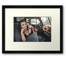 Comfortable seat  Framed Print