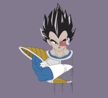Dragon Ball Z Vegeta Bust Kids Clothes