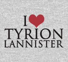I Love Tyrion Lannister by stevebluey