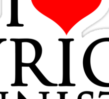 I Love Tyrion Lannister Sticker
