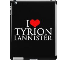 I Love Tyrion Lannister iPad Case/Skin