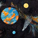 Planet Blorange by Gary Adams