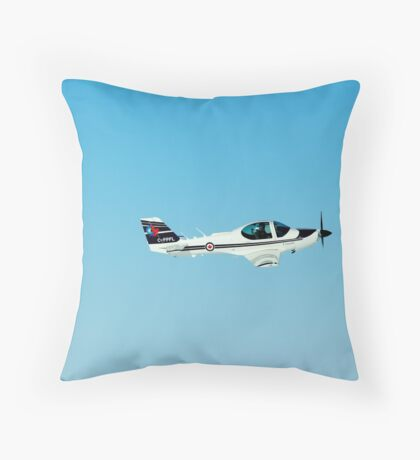 Royal Canadian Air Force Trainer  Throw Pillow