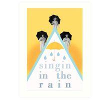 Singin' in the Rain Art Print