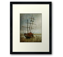 Echoes of piracy Framed Print
