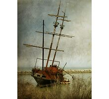 Echoes of piracy Photographic Print