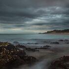 Cloudy Kingscliff by Ron Finkel