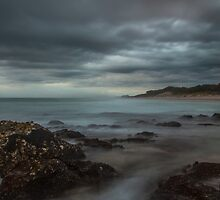 Cloudy Kingscliff by Ron Finkel